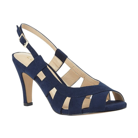 Lotus Dakota  NAVY Sling Back Shoes uls158