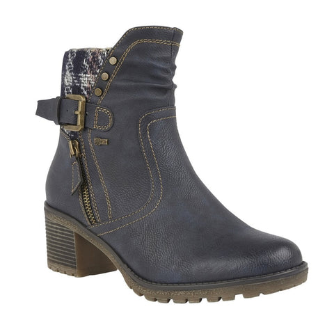 Lous Relife Ruthie NAVY Ankle Boot