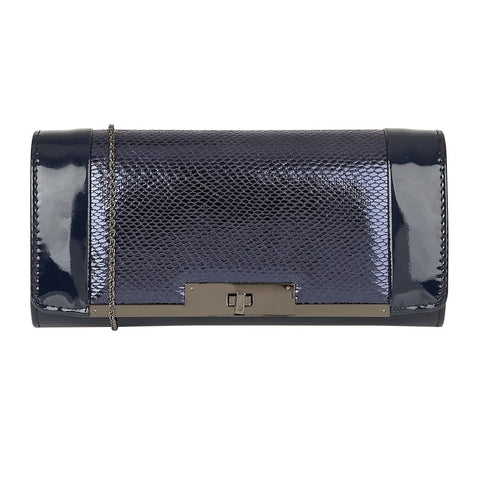Lotus Zonda Clutch Bag Navy