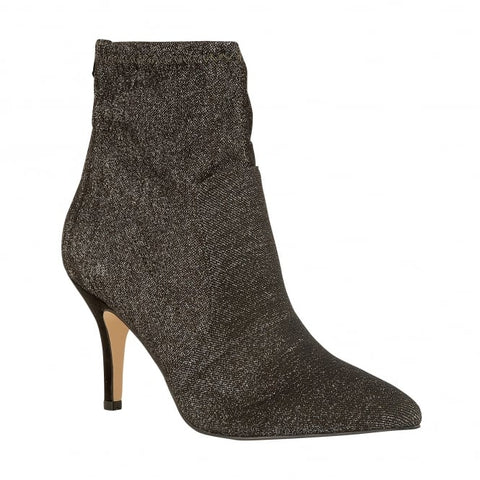 Lotus Ankle Boot Thames PEWTER Stretch Textile