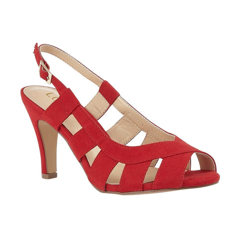Lotus Dakota  RED Sling Back Occasion Shoes uls158