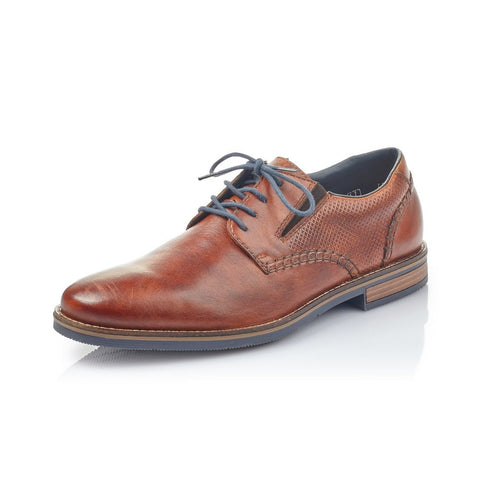 Rieker 13514-24 Smart Brown Lace Up Shoes