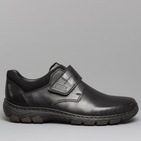 Rieker 19962-00 Mens Leather Touch