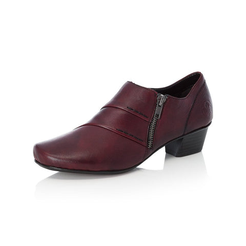 RIEKER 53870-35 LADIES RED SHOES
