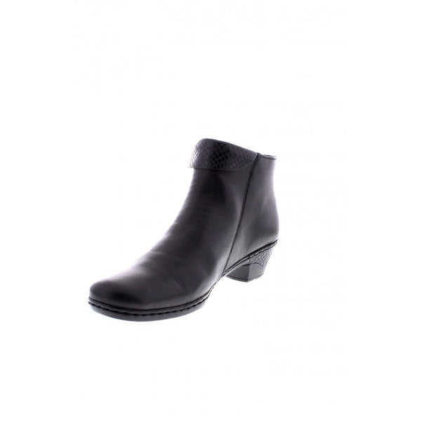55acb8448c9 Women's Shoes Ladies Rieker Low Heeled Ankle Boots 76961 Boots