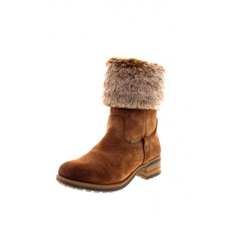 RIEKER 96854-24 LADIES BROWN 'TEX' BOOTS
