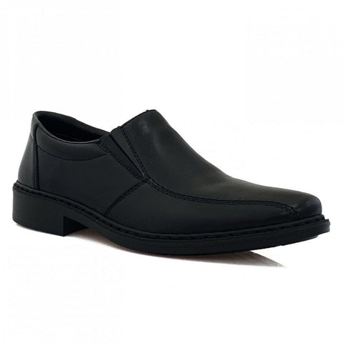 Rieker Mens BLACK 14172-00 Slip On Shoes