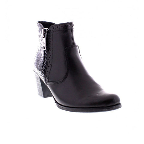 Rieker  y8965-00 Black Zip Ankle Boot