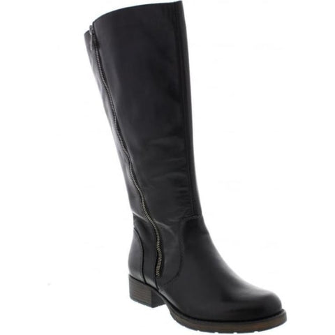 Ladies Rieker Long Boot z9581 Black