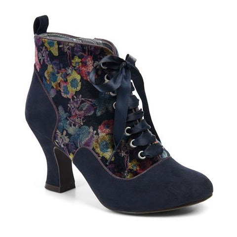 Ruby Shoo Boot Bailey 09138 Navy