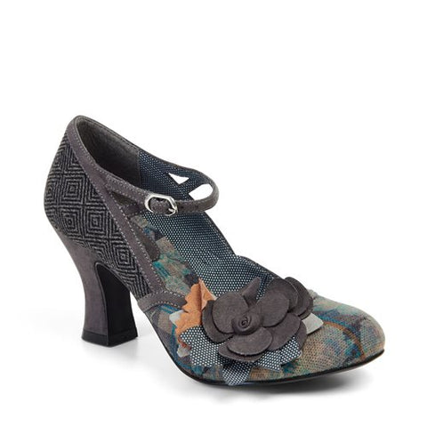 Ruby Shoo Dee 09129 Grey