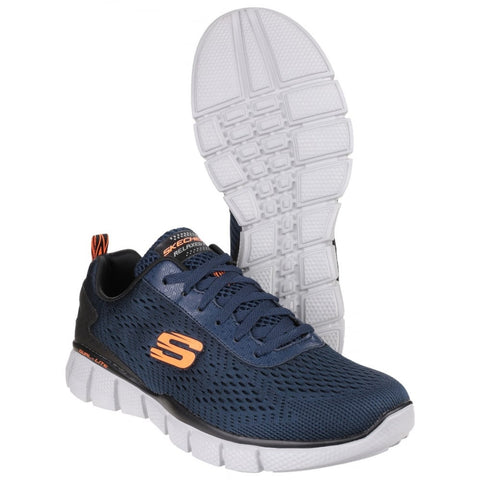 Skechers Equalizer - Navy Blue Lace Up 51529