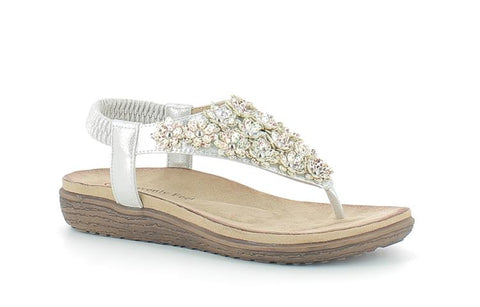 87f89085165 Heavenly Feet Irene Ladies toe post Sandals – A.G. Meek
