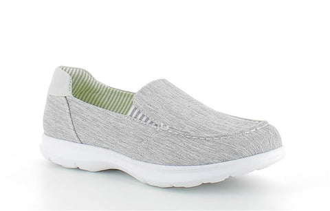 Heavenly Feet Rider lightweight casual shoe in Grey