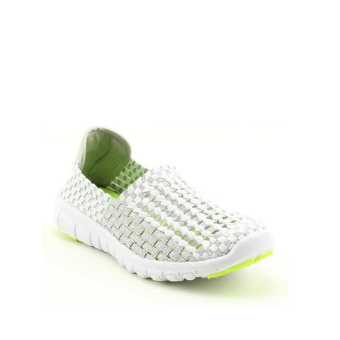 Heavenly Feet Cosmos WHITE/SILVER Casual Shoe