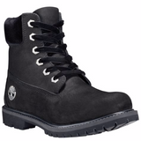 Timberland WOMEN'S VELVET-ACCENT PREMIUM WATERPROOF BOOTS Black