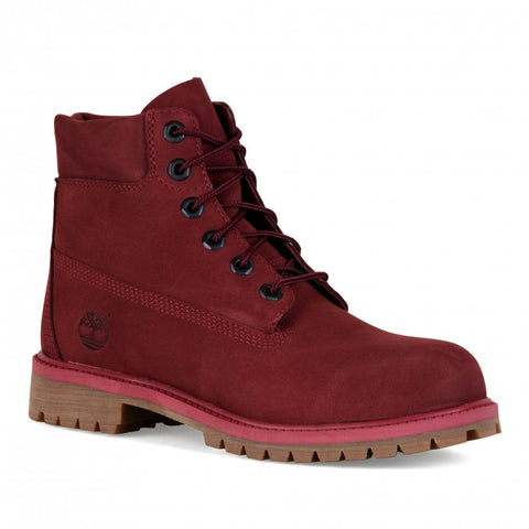 Timberland 6 inch Premium Waterproof Boot Pomegranate