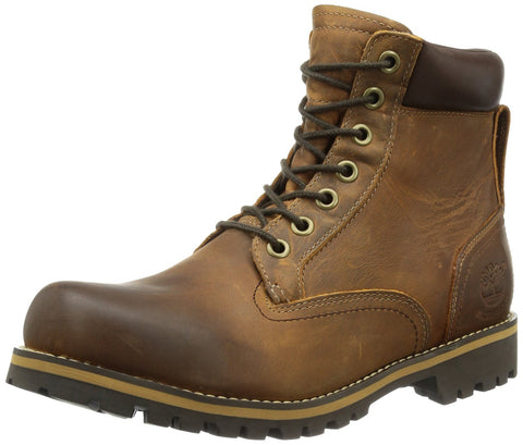 Timberland Mens RUGWP 74134 Heavy Plain Toe Boot