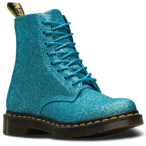 Dr Martens 1460 pascal TURQUOISE GLITTER PU 24320440