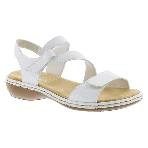 Rieker 80 Sandals 659c7 Ladies White mN80vnwO