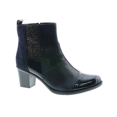 Rieker Z7686 NAVY Leather Ladies Boot