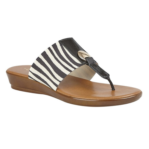 Lotus Arna ZEBRA Toe Post sandal