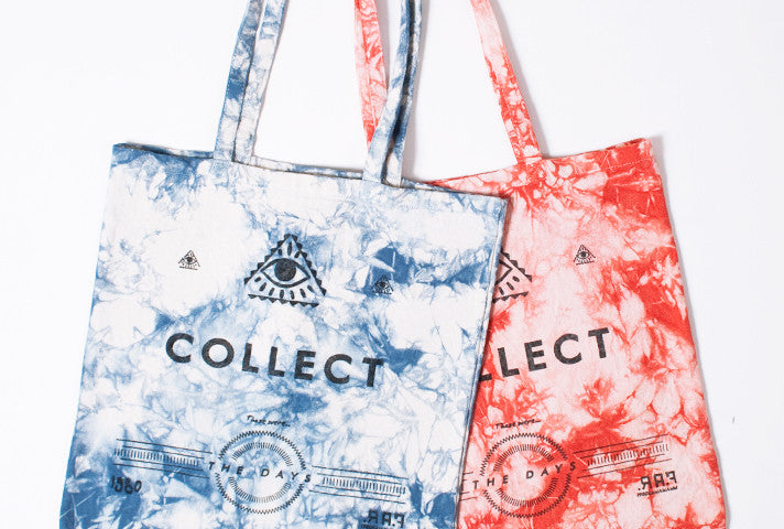 New In SS12 – TIE-DYE TOTE BAGS