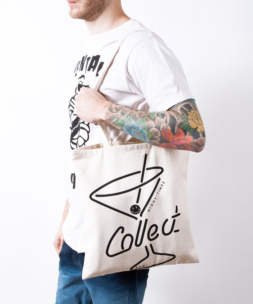 Cocktail Canvas Tote Bag