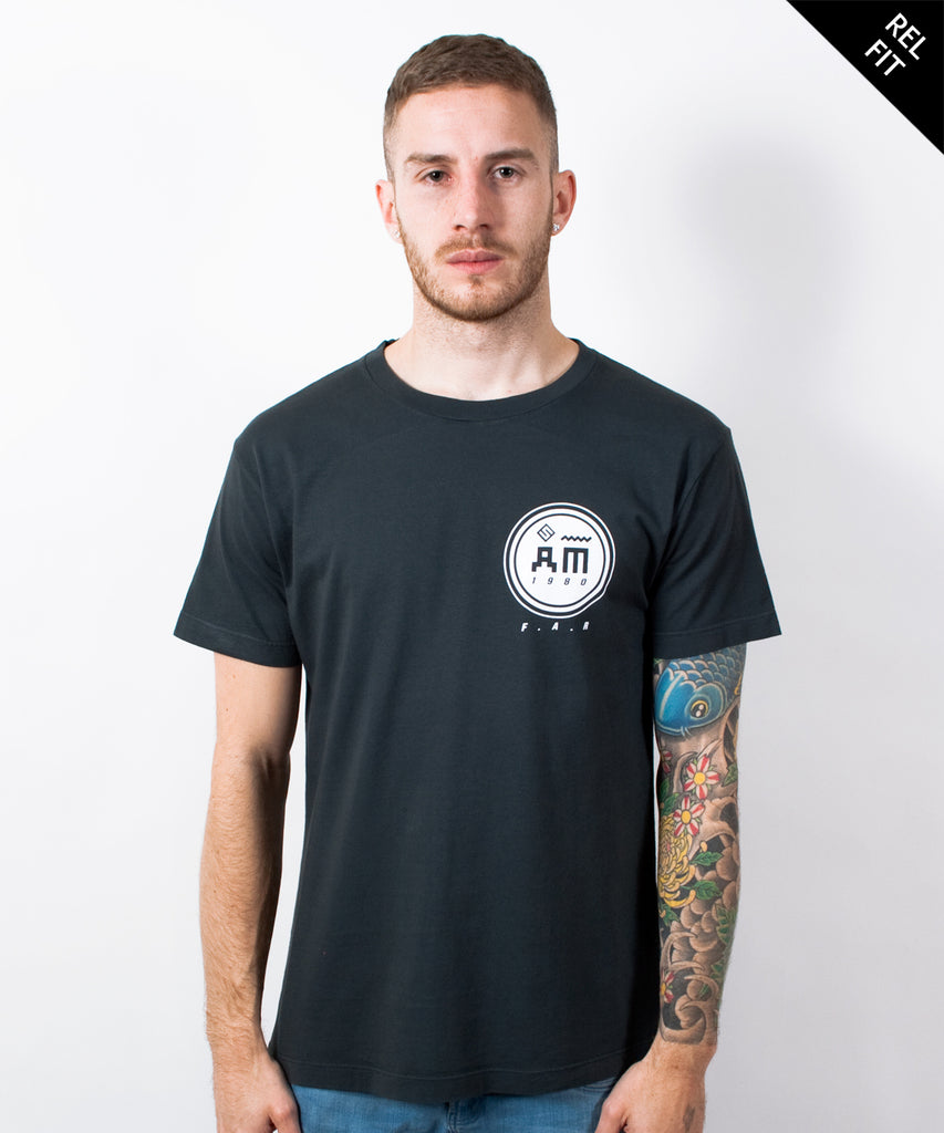 Follow Me Men's Charcoal T-Shirt