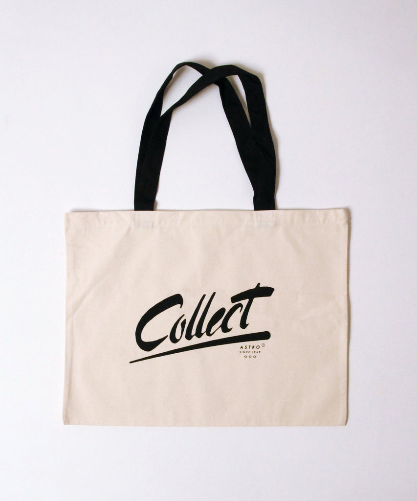 Astro Tote Bag Black Handle