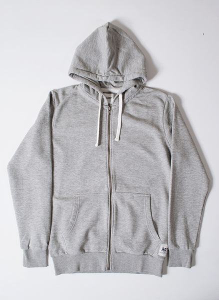 Basics Plain Grey Men's Hooded Sweatshirt