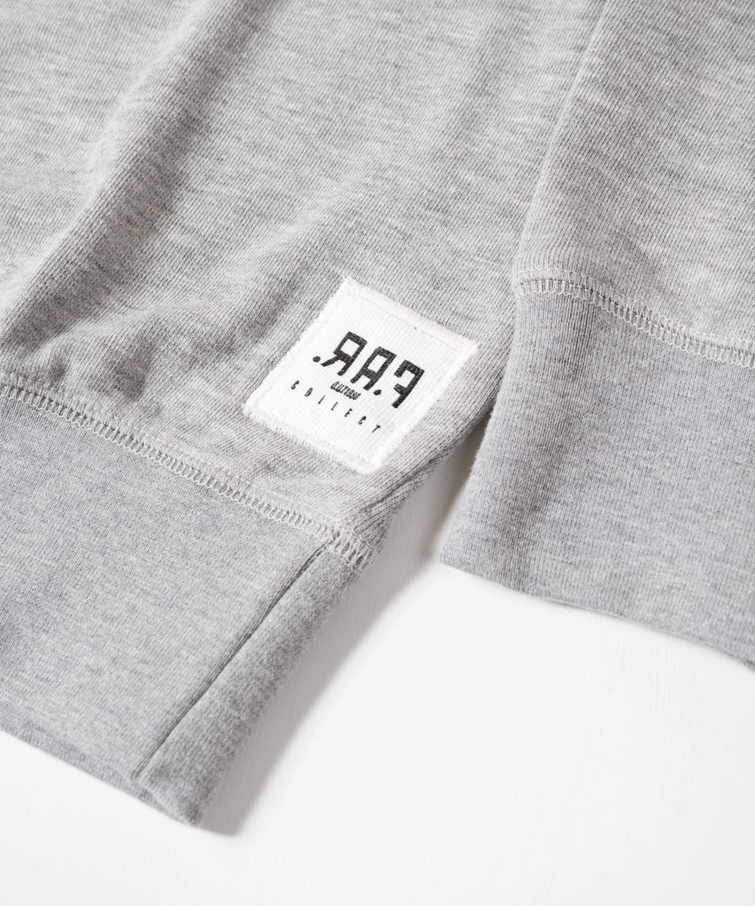 Mental 91 Raglan Sweatshirt Grey
