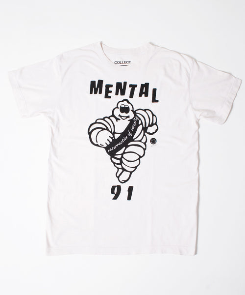 Mental 91 T-Shirt Off White