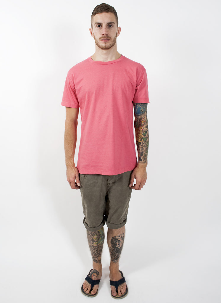Coral Pink Relaxed Fit T-Shirt