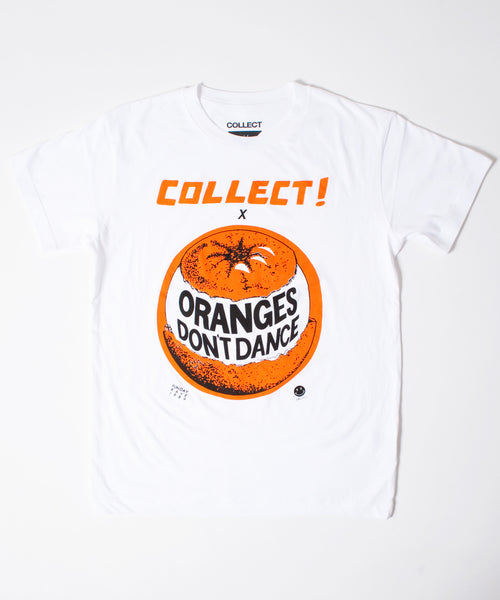 Oranges Don't Dance T-Shirt White