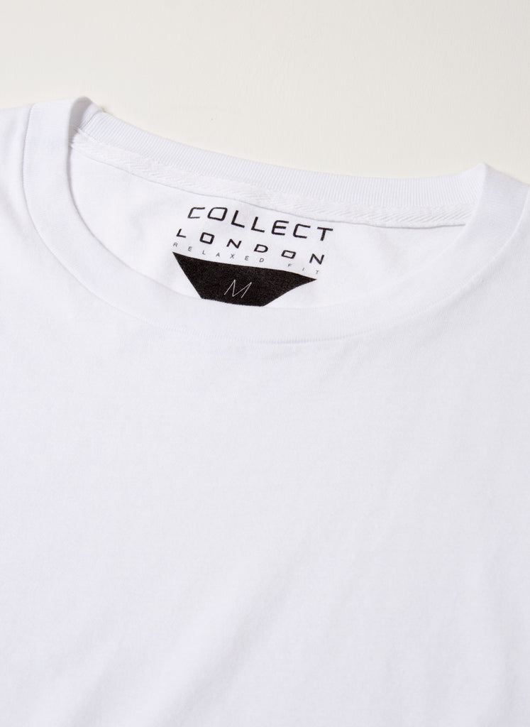 White Relaxed Fit T-Shirt