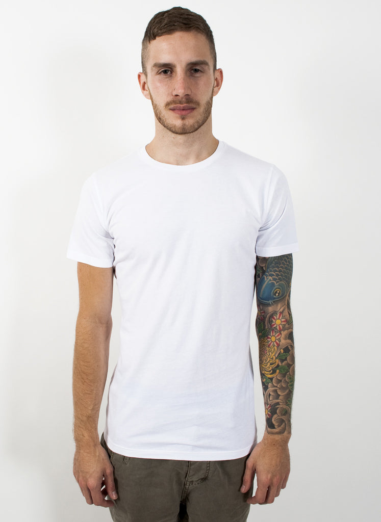 White Slim Fit T-Shirt
