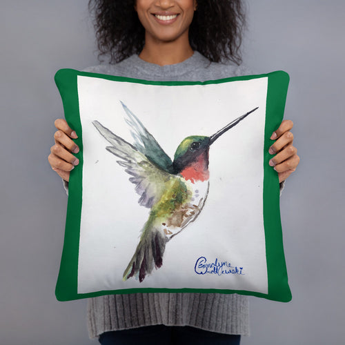 Basic Pillow - Hummingbird (EW)