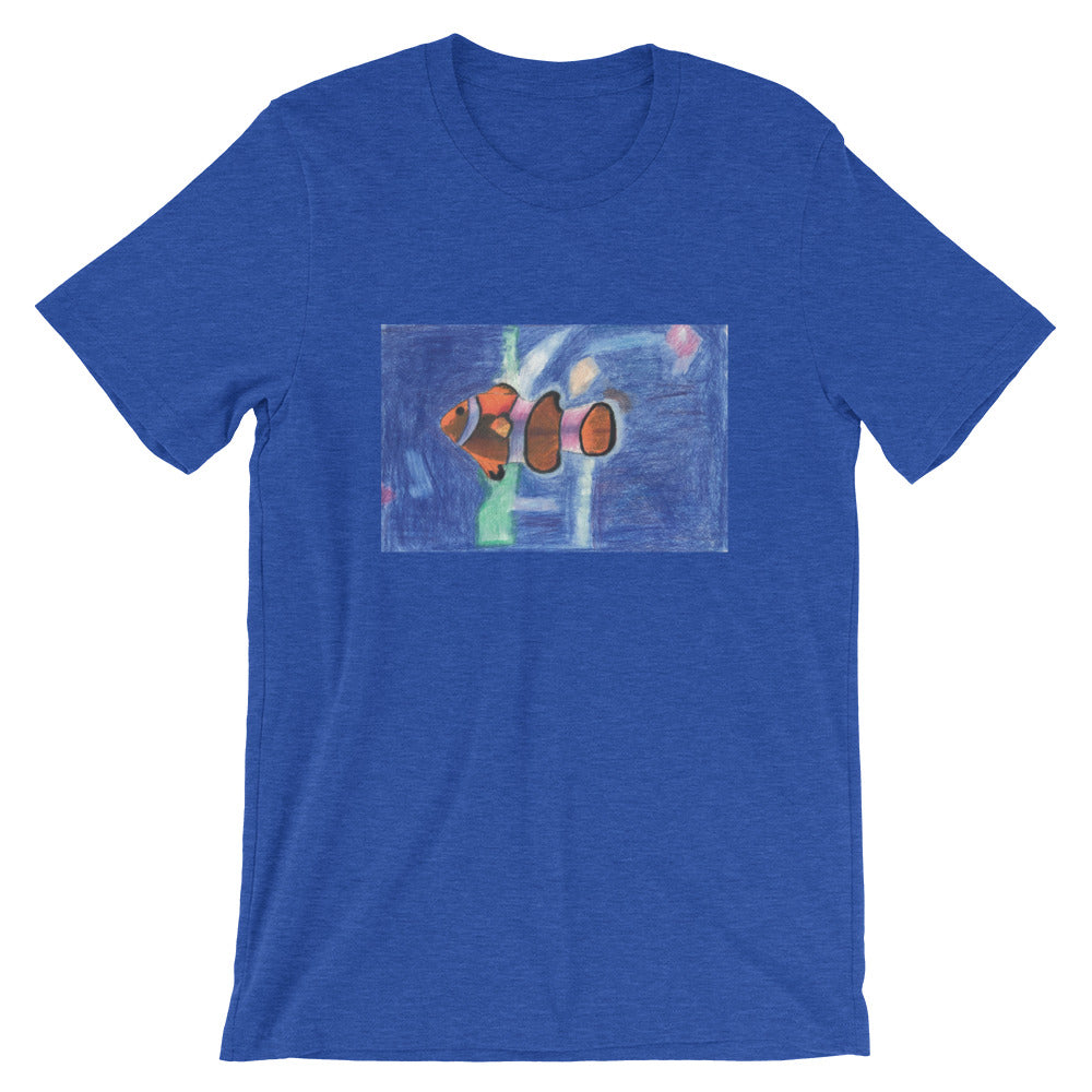 Short-Sleeve Unisex T-Shirt - Clown Fish (JM)