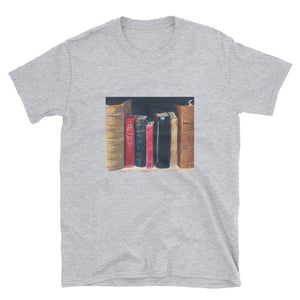 Short-Sleeve Unisex T-Shirt - Books (RM)