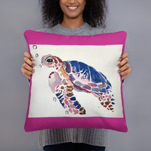 Load image into Gallery viewer, Basic Pillow - Sea Turtle (AM)