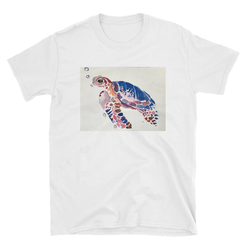 Short-Sleeve Unisex T-Shirt - Sea Turtle (AM)
