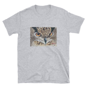 Short-Sleeve Unisex T-Shirt - Owl (MM)
