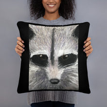 Load image into Gallery viewer, Basic Pillow - Racoon (SS)