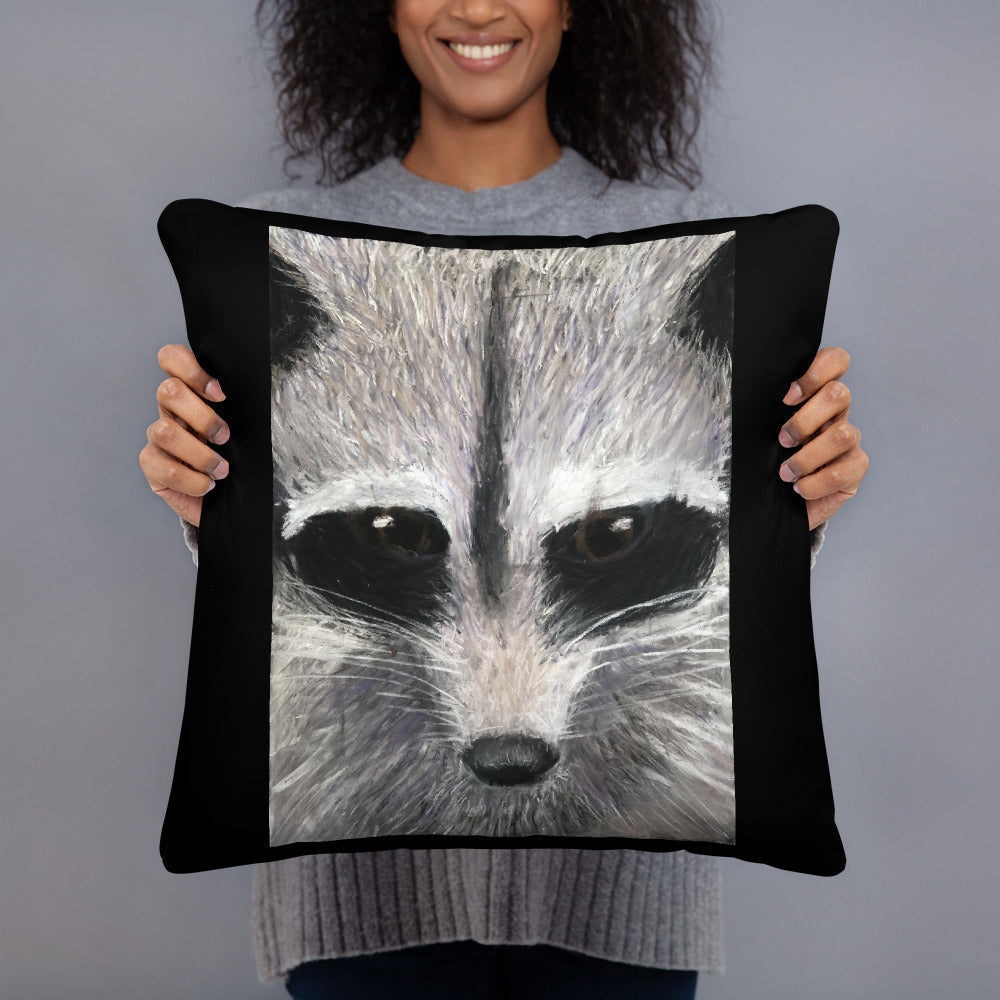 Basic Pillow - Racoon (SS)