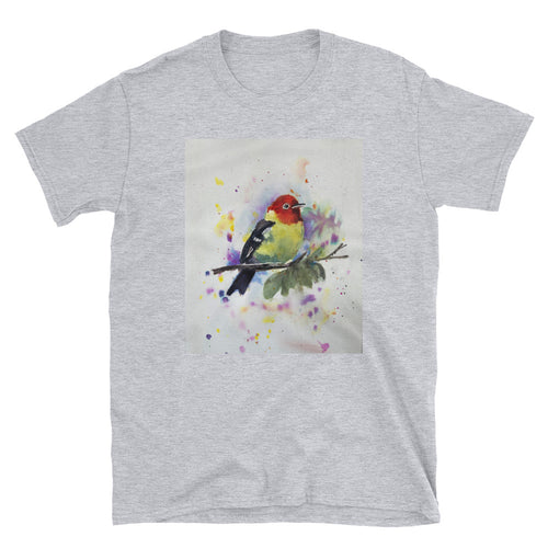 Short-Sleeve Unisex T-Shirt - Finch (AS)