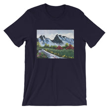 Load image into Gallery viewer, Short-Sleeve Unisex T-Shirt - Day in the Mountains (GG)