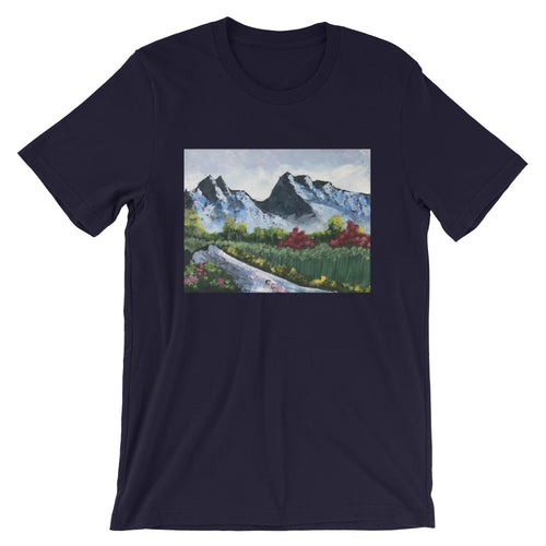 Short-Sleeve Unisex T-Shirt - Day in the Mountains (GG)