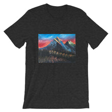 Load image into Gallery viewer, Short-Sleeve Unisex T-Shirt - Mountain Forest (CO)
