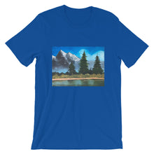 Load image into Gallery viewer, Short-Sleeve Unisex T-Shirt - Landscape Scene (SS)